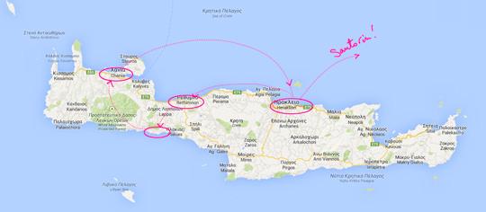 Carte Crete Gorges De Samaria.Caro Z Ine Voyage La Crete Loutro Et Les Gorges De
